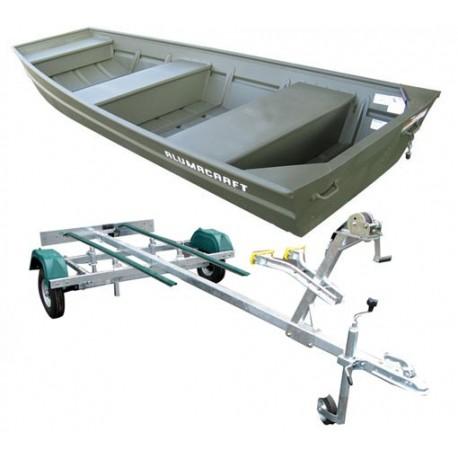Jon boat 1236 + remorque pack plus