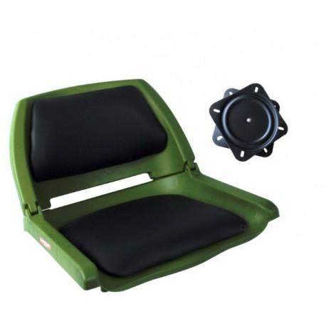 Pack siège vert Pike'n'Bass + platine 360 °