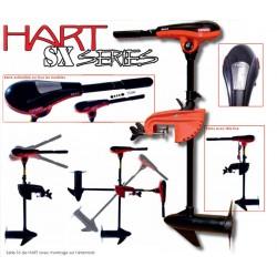 Moteurs Hart Moteur électrique Hart SX SERIES 32 lbs