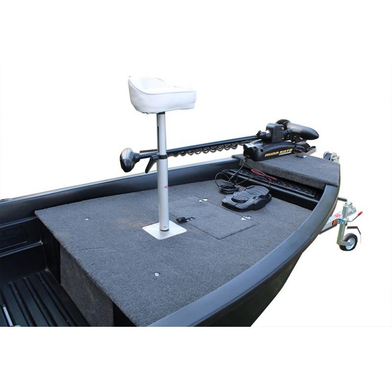 barque armor 320 noire avec remorques moteur lectrique. Black Bedroom Furniture Sets. Home Design Ideas