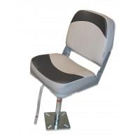 Pack siège confort avec pied fixe alu
