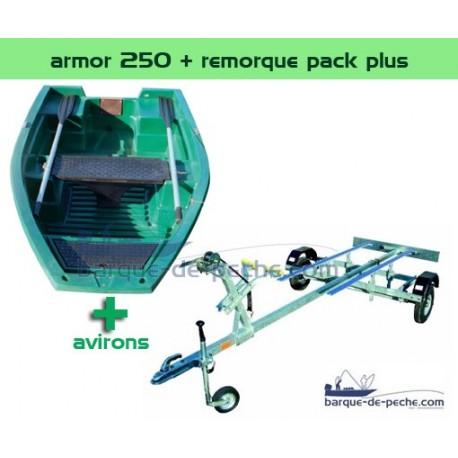 Armor 250 + remorque pack plus