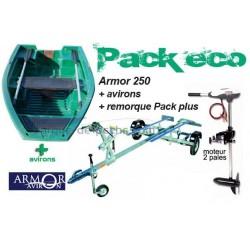 Pack Armor  Armor 250 + remorque + Rhino 34 lbs