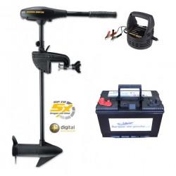 Boutique PACK Moteur électrique Endura MAX 40 + batterie 105 ah + chargeur Minnkota 105