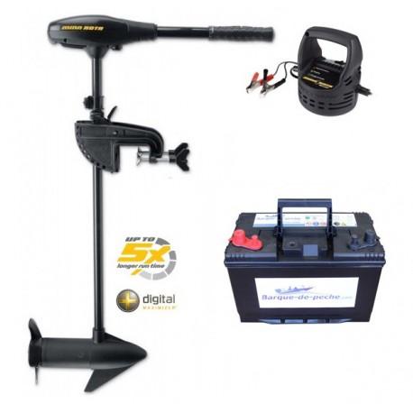 PACK Moteur électrique Endura MAX 40 + batterie 105 ah + chargeur Minnkota 105