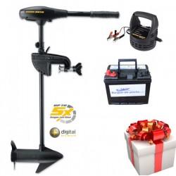 Boutique PACK Moteur électrique Endura MAX 55 + batterie 120 ah + chargeur Minnkota 110