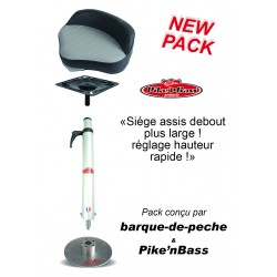 Boutique Pack siège assis debout large