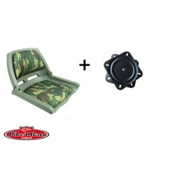 Boutique Pack Siège Pike'nBass Pliant camouflage + platine