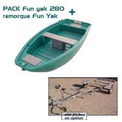 Pack Fun Yak Fun Yak 280+ Remorque + treuil OFFERT