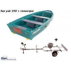Pack Fun Yak Fun Yak 350+ Remorque + treuil offert