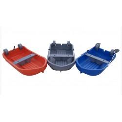 barque Fun Yak Caurie bleue + avirons