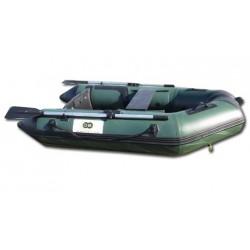 Boutique bateau pneumatique spécial pêche plancher et quille gonflables DBI 230C Fish