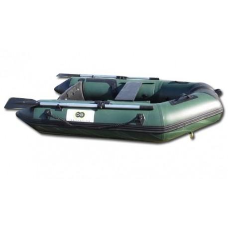 bateau pneumatique sp cial p che plancher et quille gonflables dbi 230c fish. Black Bedroom Furniture Sets. Home Design Ideas