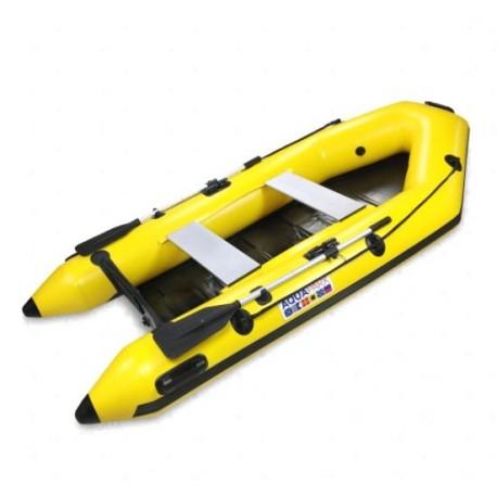 bateau RIB 280 PRO jaune Aquaparx