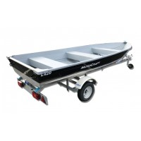 Pack barque Motocraft L420 + remorque CBS B0200