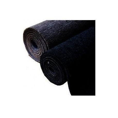 Moquette marine black 1m80