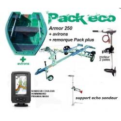 Pack Armor  Armor 250- Rhino 34 RVX - remorque-echo sondeur