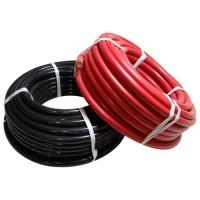 Câble de batterie souple HO7VK - 10 mm² - rouge et noir