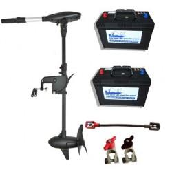 Pack moteurs PROTRUAR-G 3.0 110 LBS + 2 batteries 120 ah + accessoires