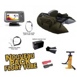 Pack Float tube Pack Float tube Float tube Pike'nBass PM vert foncé + SONDEUR LOWRANCE HOOK 2 - 4X + accessoires