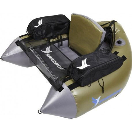 FLOAT TUBE SPARROW COMMANDO - VERT-GRIS