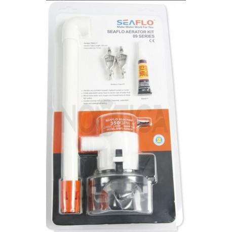Pompe de cale Vivier Seaflo Tuba aérateur 12 V 350GPH