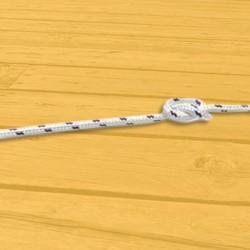 Ancres et Poids Cordage - Drisse - Ecoute polyester tressé diamètre 08