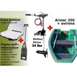 Pack Armor Armor 250 + Rhino 34 lbs + Accessoires