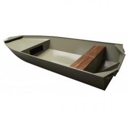 Alu nautique concept Bateau Alu Nautique Jon 4.10 avec plancher aluminium peinture anti-dérapante