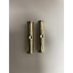 Batteries paire de cosses à oeillet jaune 13 mm - M10