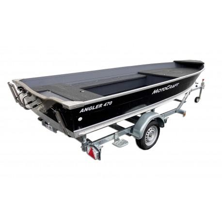 Pack barque Motocraft Angler 470 + REMORQUE SUNWAY G510PT19