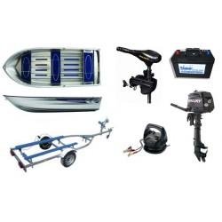 Pack Linder Linder 400 + remorque CBS + moteurs + accessoires
