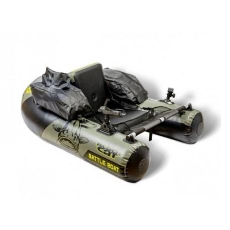 float tube black cat battle boat