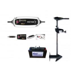 Pack moteurs Pack Endura 40 V2 + batterie 120 ah + Chargeur CTEK MXS 5.0