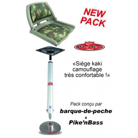 pack siège camouflage confortable complet