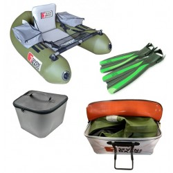 Pack Float tube Pack Seven Bass BRIGAD complet