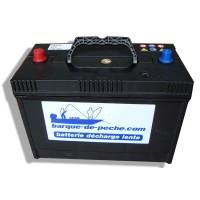 Batterie Marine - Décharge Lente 12V / 120Ah