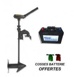 Pack moteurs Moteur Traxxis 55 lbs Maximizer 91 cm + batterie 100 ah + cosses offertes