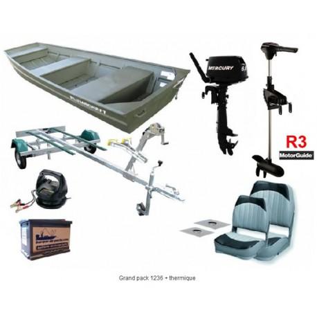 grand pack 1236 thermique barque de p che distributeur vente barque peche. Black Bedroom Furniture Sets. Home Design Ideas