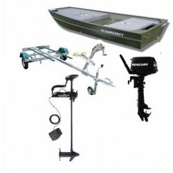 Pack Alumacraft Pack 360 explorer + remorque + moteurs electrique et thermique