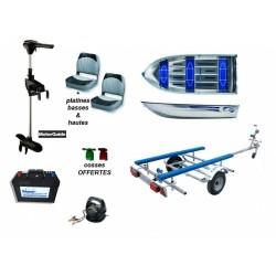 Pack Linder Linder 355 + remorque b0220 + moteur R3 55 + batterie + chargeur + accessoires