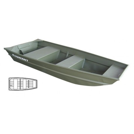 Alumacraft JonBoat 1036