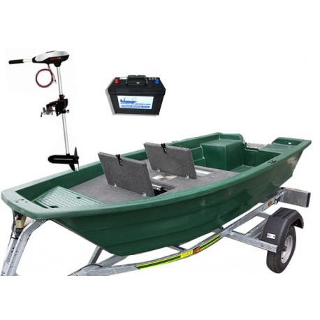 Pack Armor 320 Fishing + remorque + moteur électrique + batterie marine