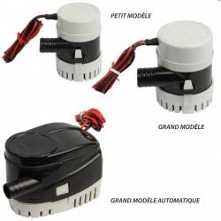Boutique Pompe vide cale 12 V petit modèle