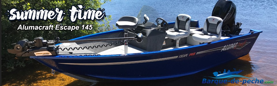 barque alumacraft escape 145